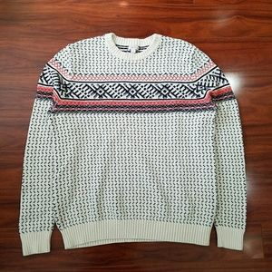 Merona Mens Chunky Knit Sweater Size L